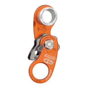 Pomarańczowy otwarty bloczek z blokadą Climbing Technology RollnLock