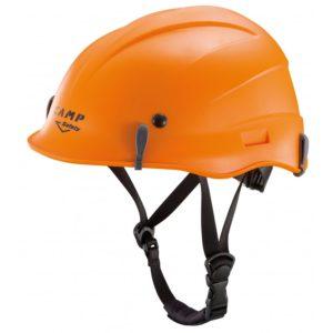 pomarańczowy kask do pracy na wysokości marki Camp Safety