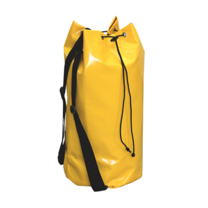 Żółty worek transportowy marki Protekt, model AX 011 o pojemności 33 litrów