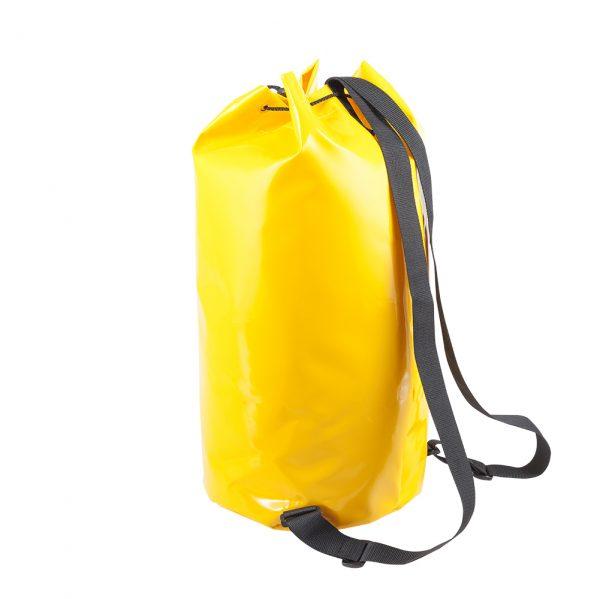 żółty worek z materiału plandekowego marki Protekt