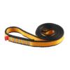 Zwinięta żółto-szara pętla poliamidowa Ocun o-sling PAD o długości 60 cm