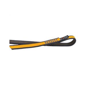 Poliamidowa pętla Rock Empire Open Sling w kolorze żółto-czarnym o długości 60 cm i szerokości 16 mm