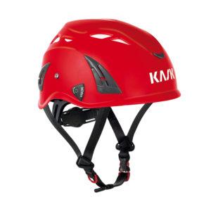 Czerwony kask przemysłowy Plasma AQ marki Kask
