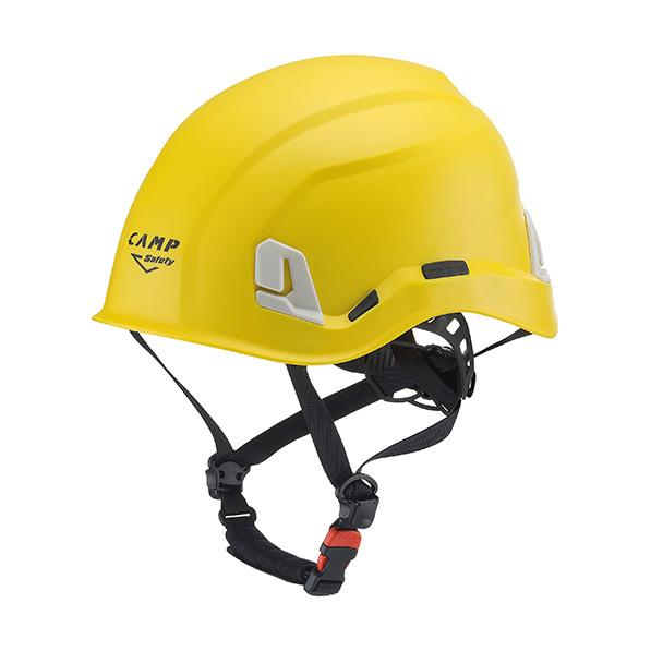 Żółty kask przemysłowy marki Camp Safety Ares