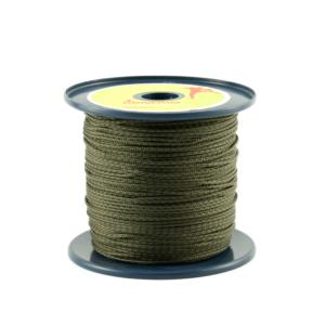Zgniłozielona linka pomocnicza Repsznur o grubości 2 mm marki Tendon