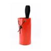 Czerwony worek obciążeniowy firmy Protekt o pojemności 3 litrów