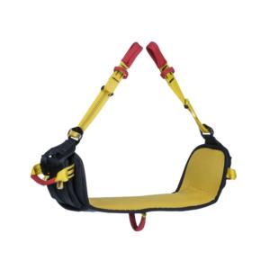 żółta ławeczka do pracy w zjeździe Beal Air Sit