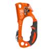 Przyrząd zaciskowy Climbing Technology Quick Roll z rolką ułatwiającą podchodzenie na linie.