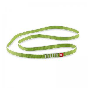 zielona pętla długości 80 cm o szerokości 20 mm marki Ocun