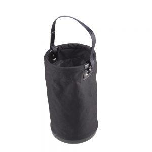 czarny worek na narzędzia w kształcie tuby marki Protekt