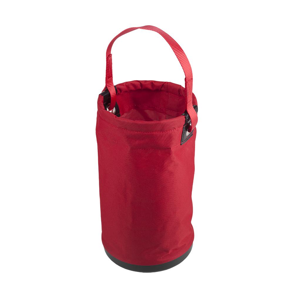 kosz narzedziowy Protekt z tkaniny syntetycznej czerwony