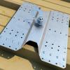 Instalacja punktu SHIELD2 na dachu z blachy falistej