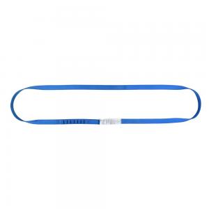 petla tasmowa Irudek niebieska 90 cm