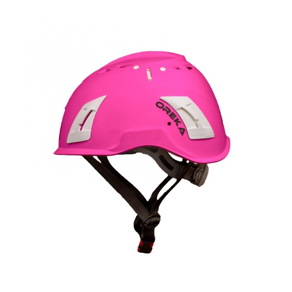 kask przemyslowy Irudek Oreka pink