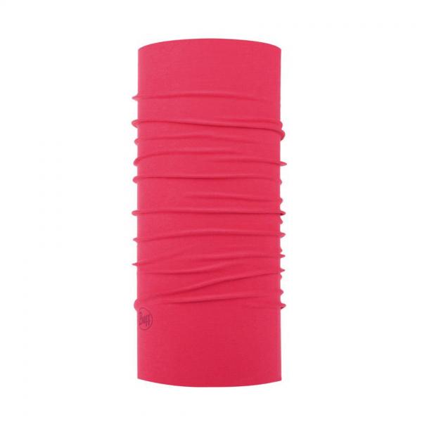 jednolity różowy komin Buff