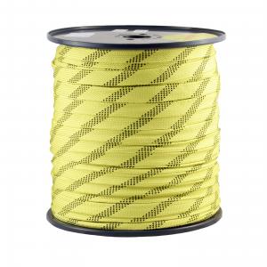 Żólta tasma rurowa o szerokości 23 mm