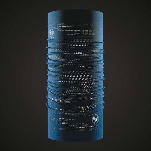Buff dryfix odblaskowy wzór 360 stopni widoczny po zmroku