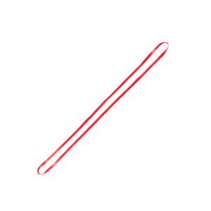 czerwona pętla zaczep taśmowy firmy PROTEKT o długości 150 cm
