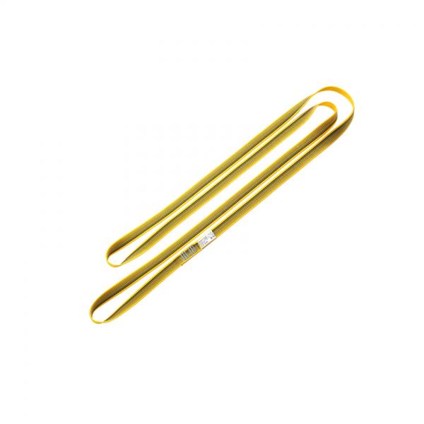 żółta pętla marki skylotec o długości 120 cm