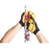 przykład jak można podchodzić na linie z wykorzystaniem obu rąk i małpy Turbohand Pro